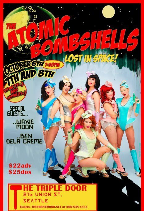 Atomic Bombshells flyer